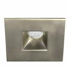 "LED Miniature Downlight Open Reflector Square 2"" Recessed Trim"