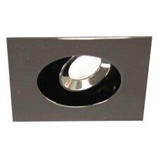 "Miniature LED Adjustable Square 2"" Recessed Housing"