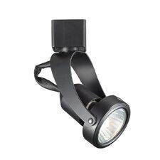 Miniature Luminaire 1 Light Pivot Line Voltage Track Head
