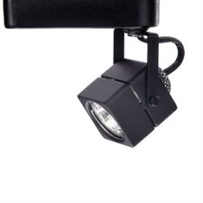 1 Light Low Voltage Square Track Head