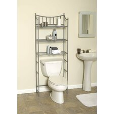 "Medina 66.38"" x 25.19"" Over the Toilet Bathroom Shelf"