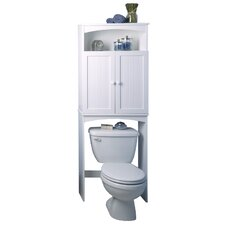 "Cottage 24.63"" x 64.75"" Free Standing Over the Toilet"