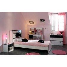 4-tlg. Schlafzimmer-Set  Lovely Light, 90 x 200 cm