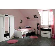 3-tlg. Schlafzimmer-Set Lovely Light, 90 x 200 cm