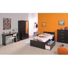 5-tlg. Schlafzimmer-Set Infinity, 90 x 200 cm