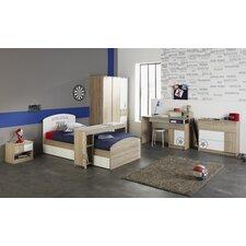 7-tlg. Schlafzimmer-Set Battle, 90 x 200 cm