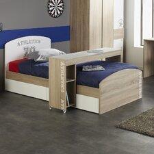 Einzelbett Battle mit Bettbrücke, 90 x 200 cm