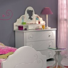 Alice Chest of Drawers in White