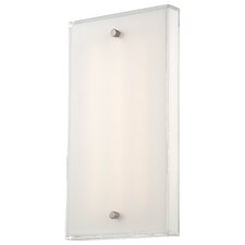 Framework 1 Light LED Wall Sconce