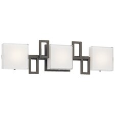 Alecia's Necklace II 3 Light LED Bath Vanity Light