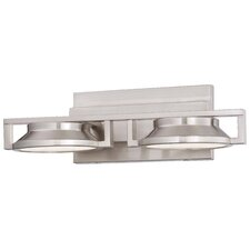 Loupe 2 Light Bath Vanity Light