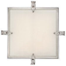Cuff Link 1 Light Flush Mount