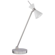 """Conic 22"""" H Table Lamp with Hourglass Shade"""