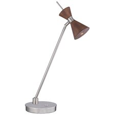 "Conic 22"" H Table Lamp with Hourglass Shade"