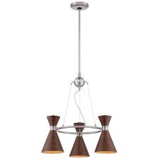 Conic 3 Light Mini Chandelier