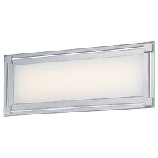 Framed 1 Light Bath Vanity Light