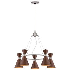 Conic 5 Light Chandelier