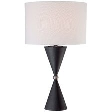 "28.75"" H Table Lamp with Drum Shade"
