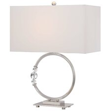 "22.5"" Table Lamp with Rectangular Shade"