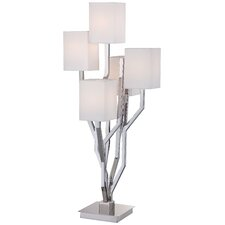 "34.25"" Table Lamp with Rectangular Shade"