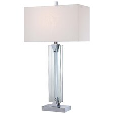 """31.5"""" Table Lamp with Rectangular Shade"""