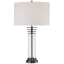 "27.75"" H Table Lamp with Drum Shade"