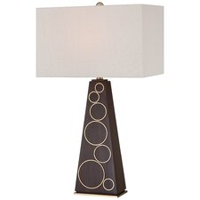"""29.5"""" Table Lamp with Rectangular Shade"""