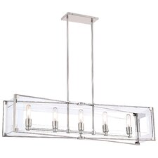 5 Light Kitchen Island Pendant