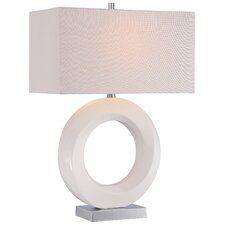 """26"""" H Table Lamp with Rectangular Shade"""