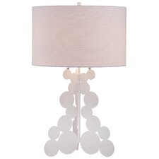 """33"""" H Table Lamp with Drum Shade"""