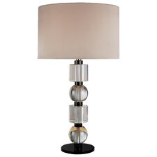 "28.25"" H Table Lamp with Drum Shade"