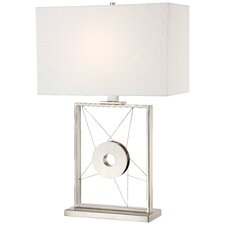 """30"""" H Table Lamp with Rectangular Shade"""