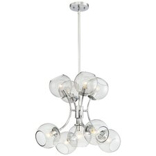 9 Light Mini Chandelier