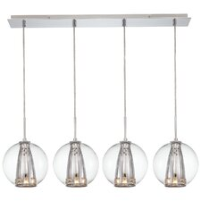 Bling Bang 4 Light Kitchen Island Pendant
