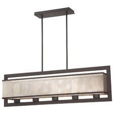 Mainly Mesh 5 Light Kitchen Island Pendant