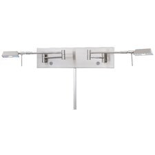 Save Your Marriage 2 Light Swing Arm Wall Lamp