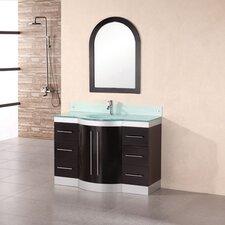 "Jade 48"" Single Bathroom Vanity Set with Mirror"