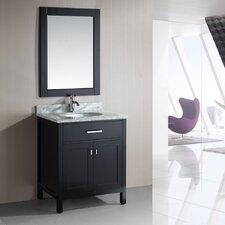 "London 30"" Single Bathroom Vanity Set with Mirror"