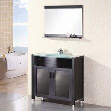 "Prestige 36"" Single Bathroom Vanity Set with Mirror"