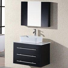 "Elton 30"" Single Bathroom Vanity Set with Mirror"