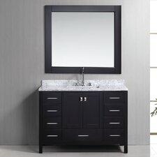 "London 48"" Single Bathroom Vanity Set with Mirror"