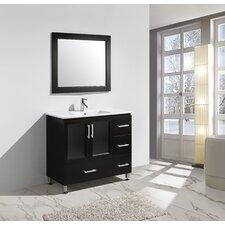 "Stanton 40"" Single Sink Vanity Set with Mirror"