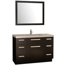 "Moscony 48"" Single Bathroom Vanity Set with Mirror"