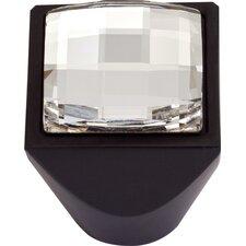 Boutique  Square Large Crystal Knob