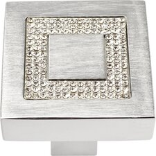Boutique Crystal  Square Knob