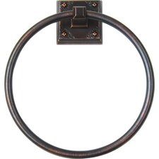American Arts and Crafts Wall Mounted Towel Ring