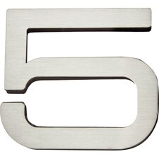 "Paragon 4"" House Number"