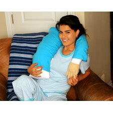 Boyfriend Micro Bead Cotton Bed Rest Pillow