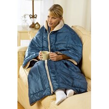 I Cozy 3-in-1 Fleece Wrap Couch Blanket