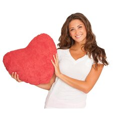 Scarlet Valentine Plush Cotton Throw Pillow